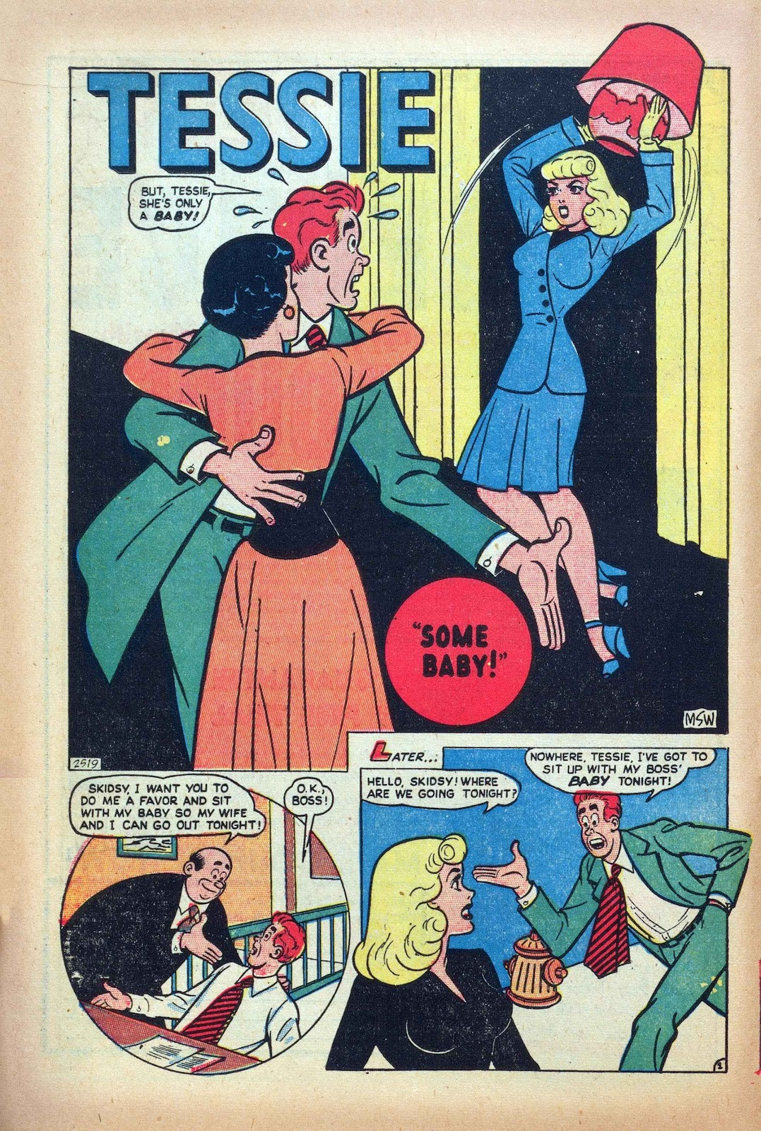 Tessie the Typist issue 16 - Page 16