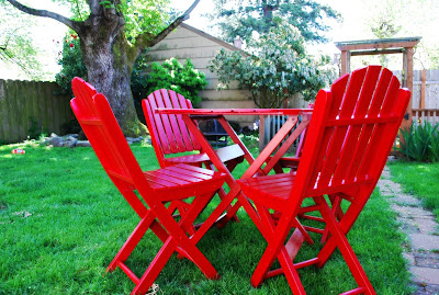 A Second Life for Patio Furniture