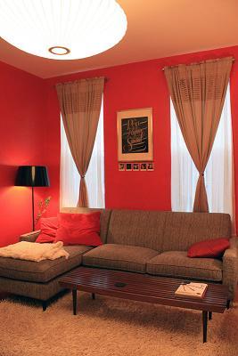 Ruang Tamu Merah Lat Desainrumahid