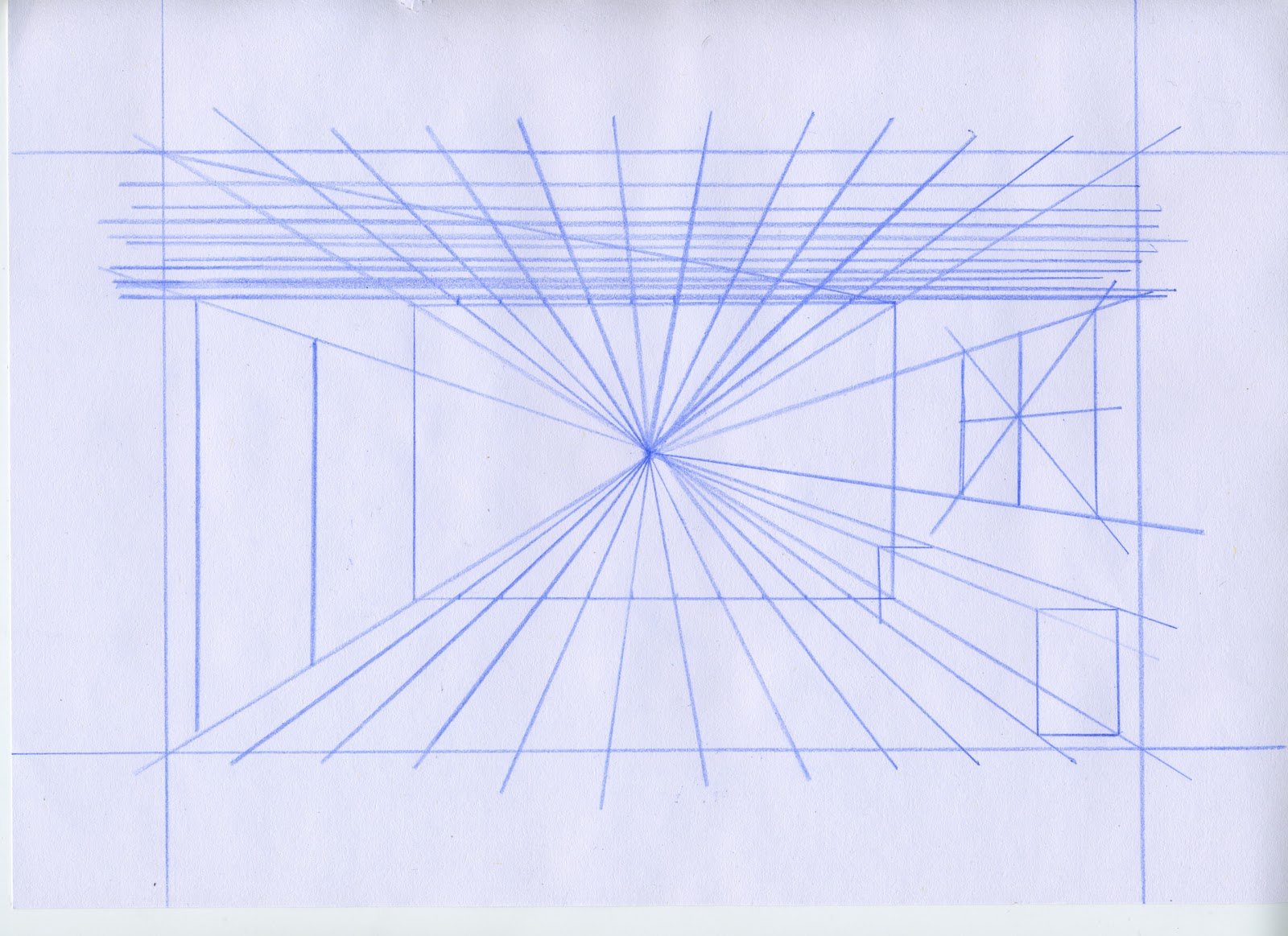 One Point Perspective Examples Pictures To Pin