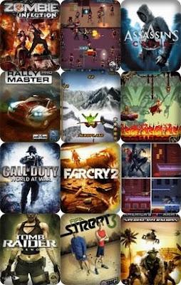 games 30 Novos Java Mobile Games