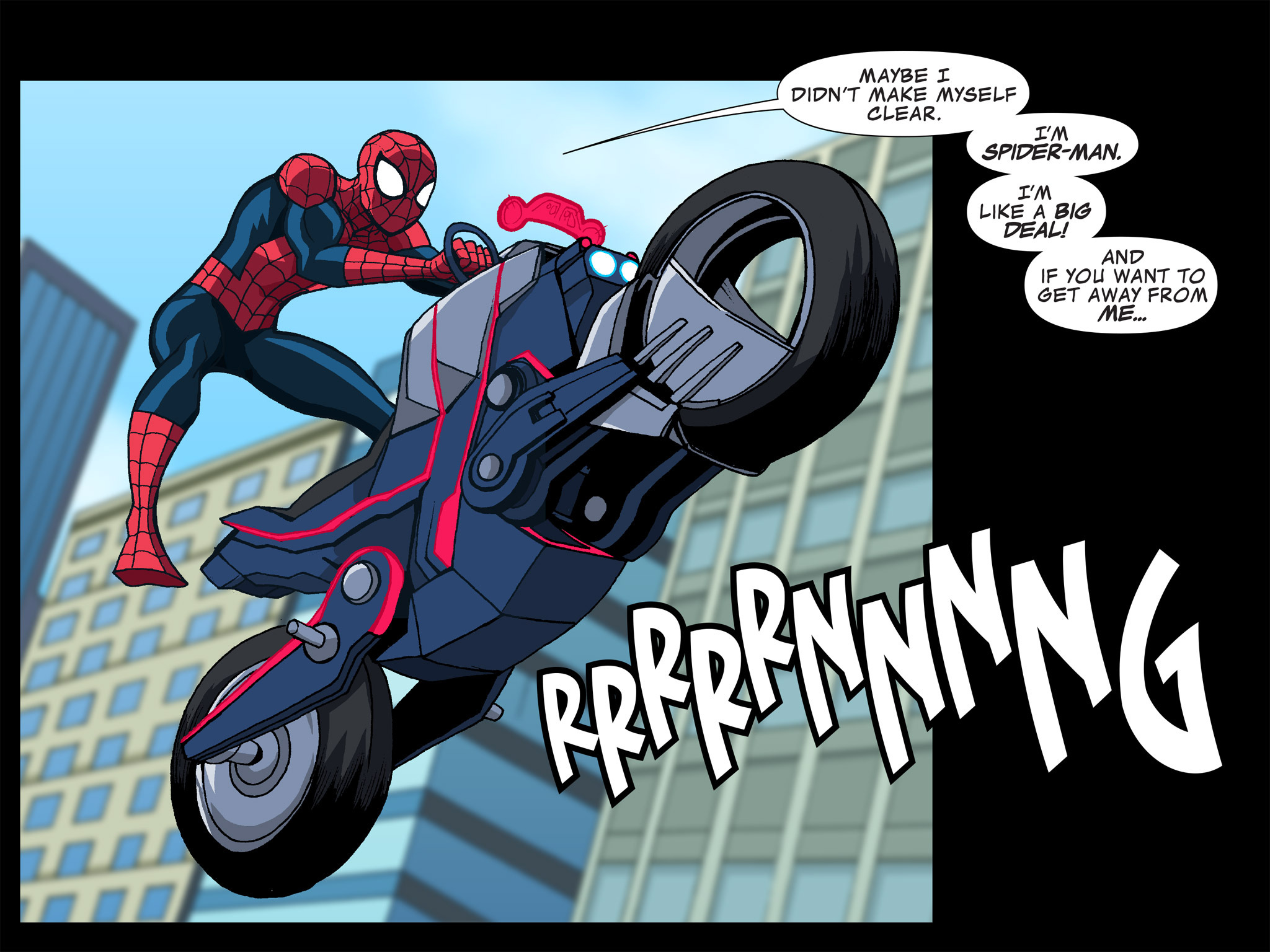 Read online Ultimate Spider-Man (Infinite Comics) (2015) comic -  Issue #12 - 10