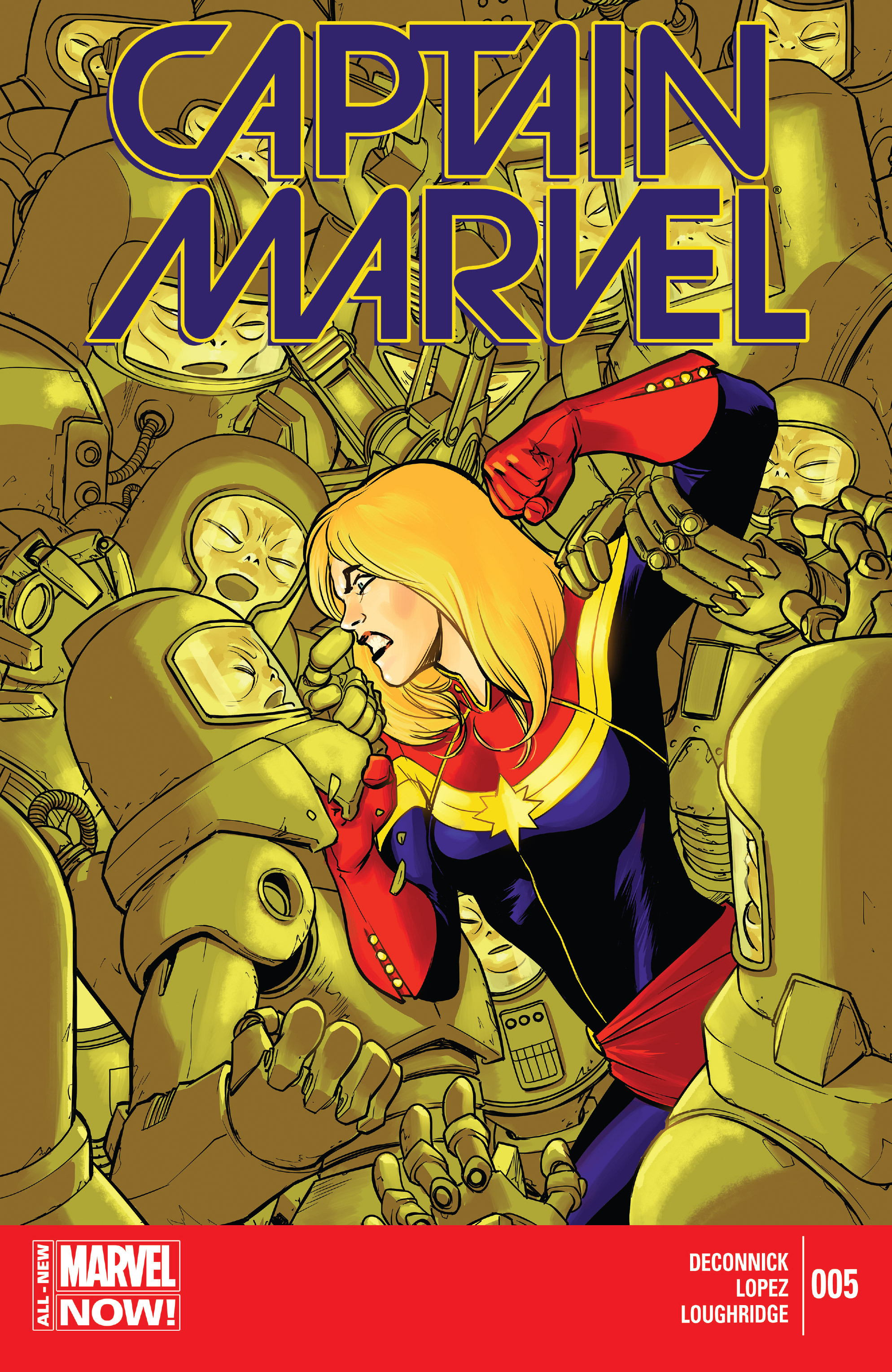Captain Marvel (2014) 5 Page 1