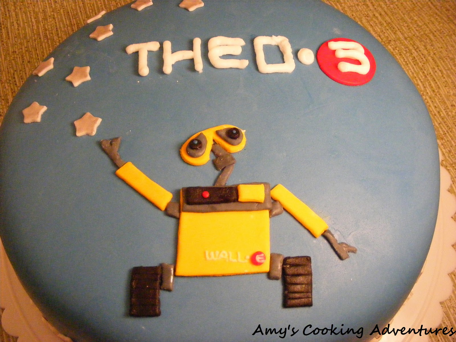 Amys Confectionery Adventures Wall E Cake