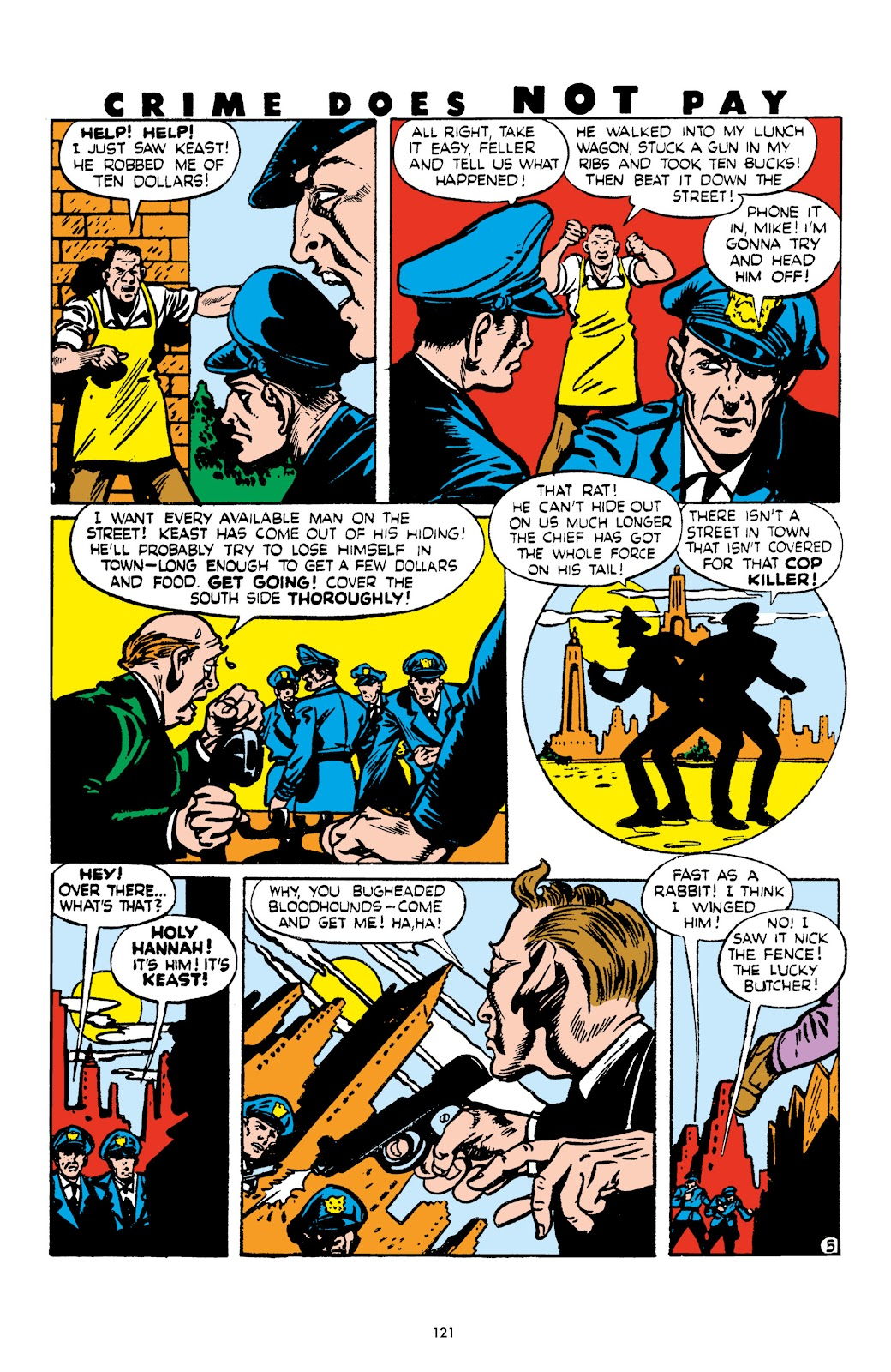 Read online Crime Does Not Pay Archives comic -  Issue # TPB 4 (Part 2) - 21