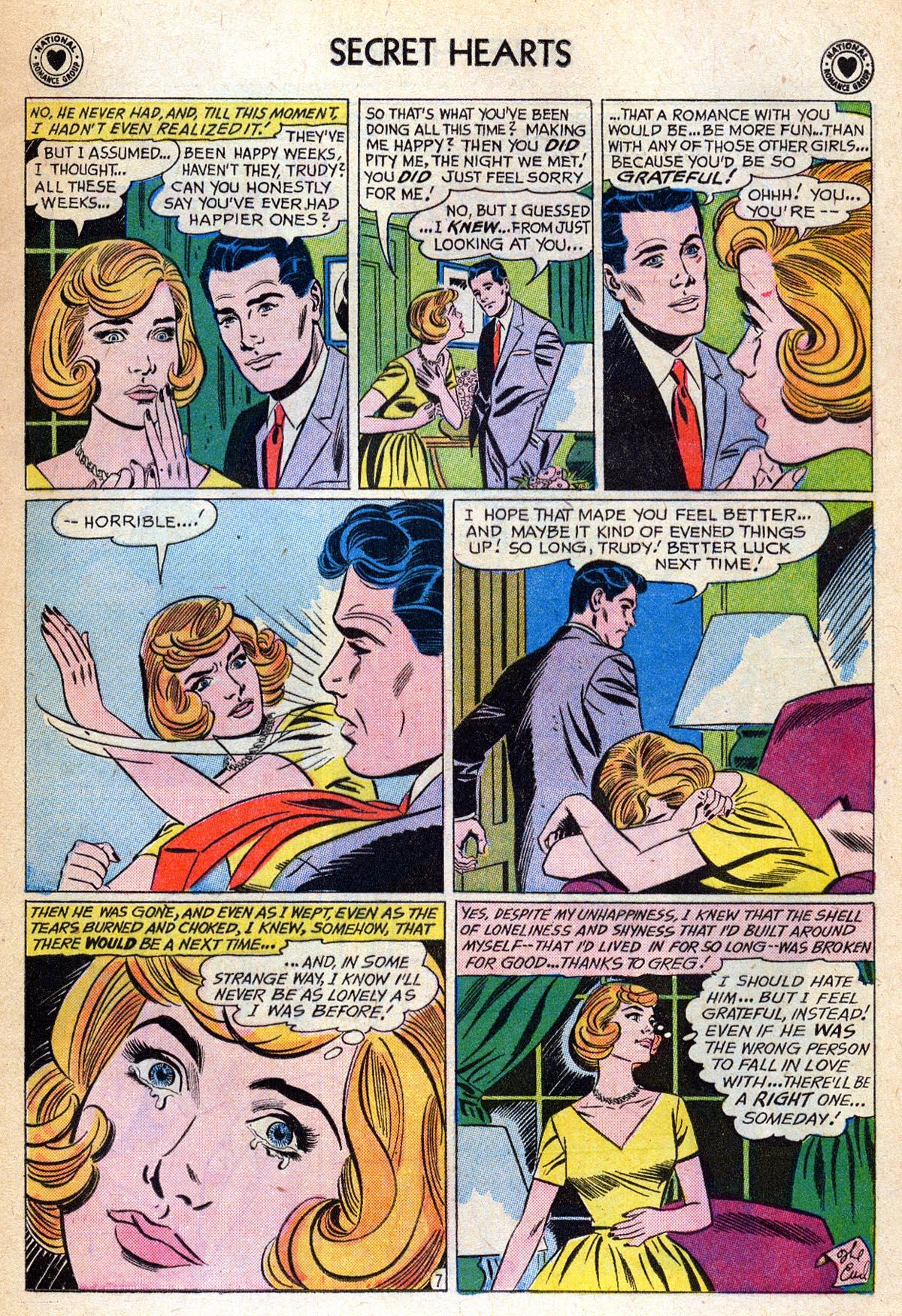 Read online Secret Hearts comic -  Issue #76 - 9