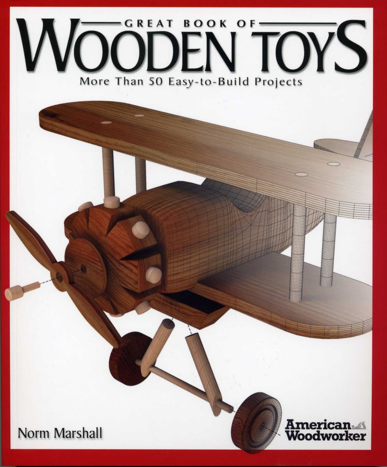 sherwood creations: great book of wooden toys book