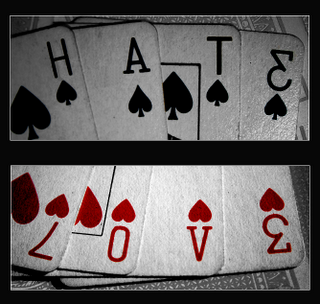ways to distinguish love from hate Is hatred always wrong according to bible teaching  whether we should hate or love depends on what we are talking about  what we hate are people's evil ways.