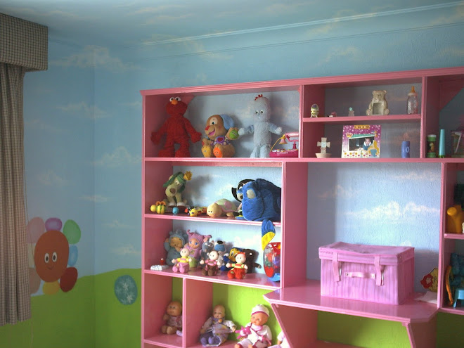 "DECORACION ""IN THE NIGHT GARDEN"""