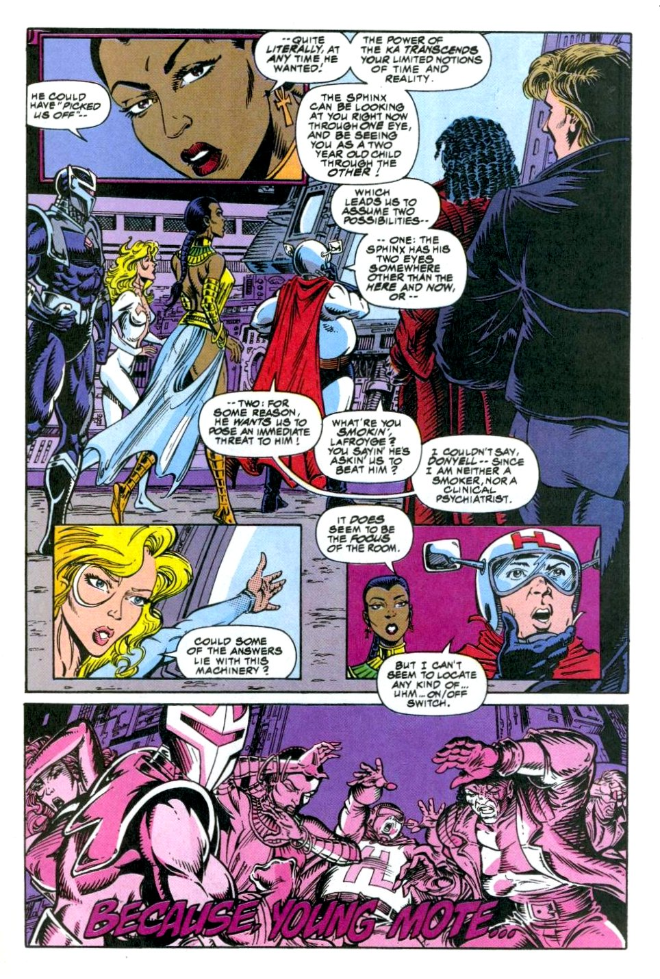 The New Warriors Issue #49 #53 - English 17