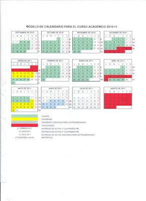 Calendario Etsa Upv.Antiguo Delegacion De Estudiantes De Arquitectura Uah 2009