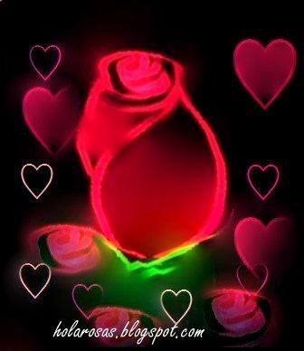 corazones de amor CORAZON DE ROSAS DE AMOR