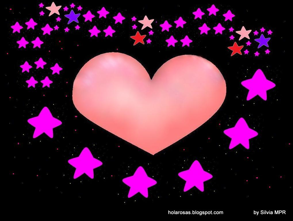 Fondos De Corazones Y Estrellas: Imagenes De Amor: Imagenes De Amor, Dibujos De Corazones Y