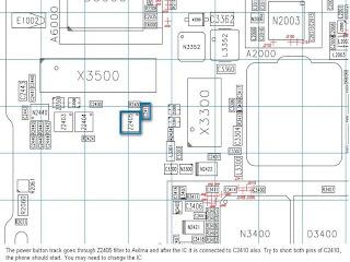 مدونة أيسر لصيانة الموبايل: عطل كبسة البور 5610 , عطل بور
