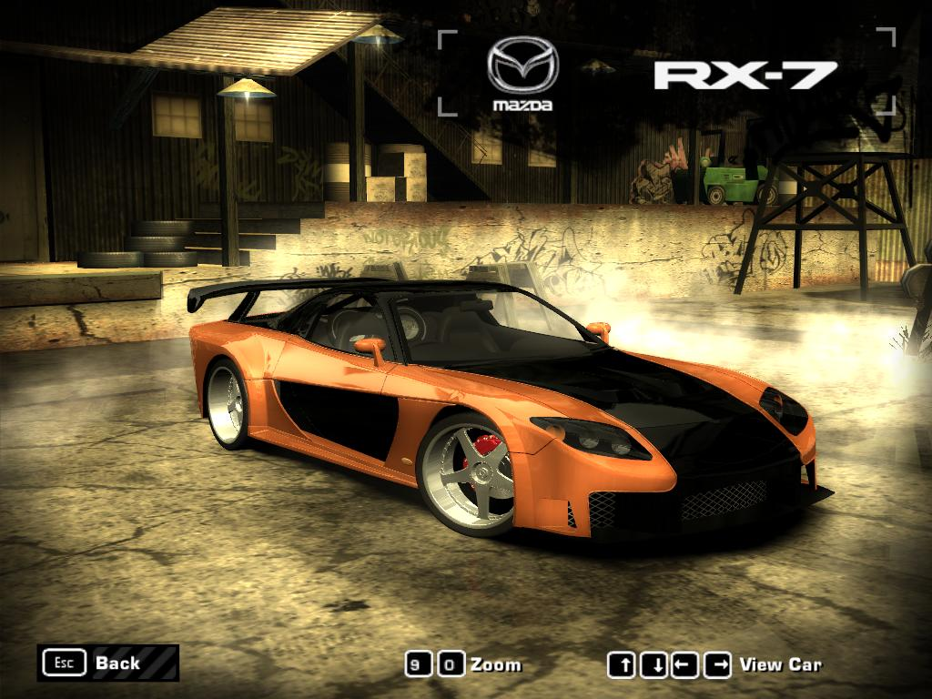 Need for Speed Most Wanted Mod Loader NFSMW Mazda RX7