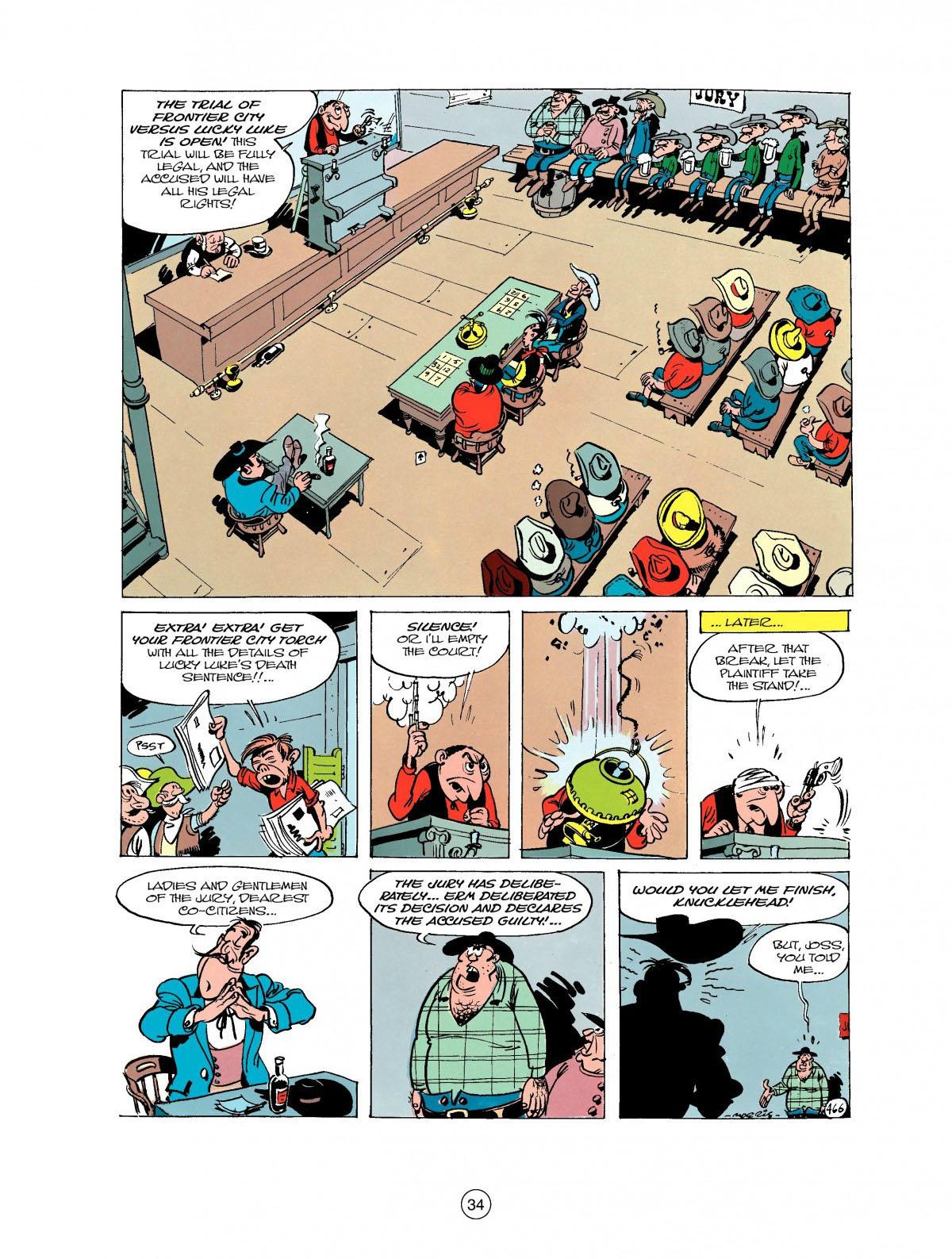 Read online A Lucky Luke Adventure comic -  Issue #27 - 35