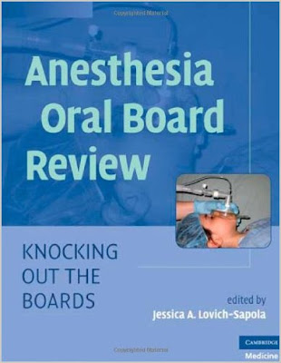 Anesthesiology Oral Boards 109