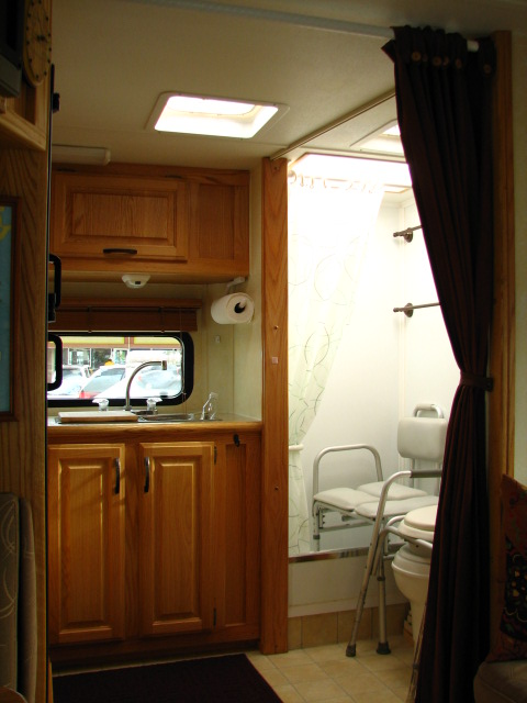 Rolling In An Rv Wheelchair Traveling Our Motorhome