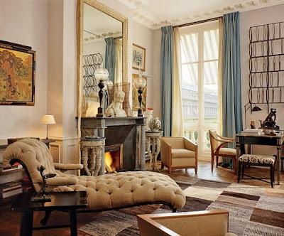 Jacques Grange design living room