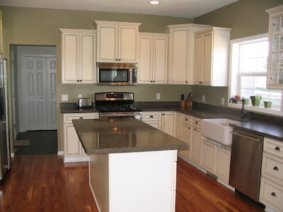 Sage green kitchen, kitchen, interior design, home interior