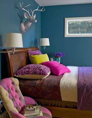Color+Inspiration: Peacock Blue