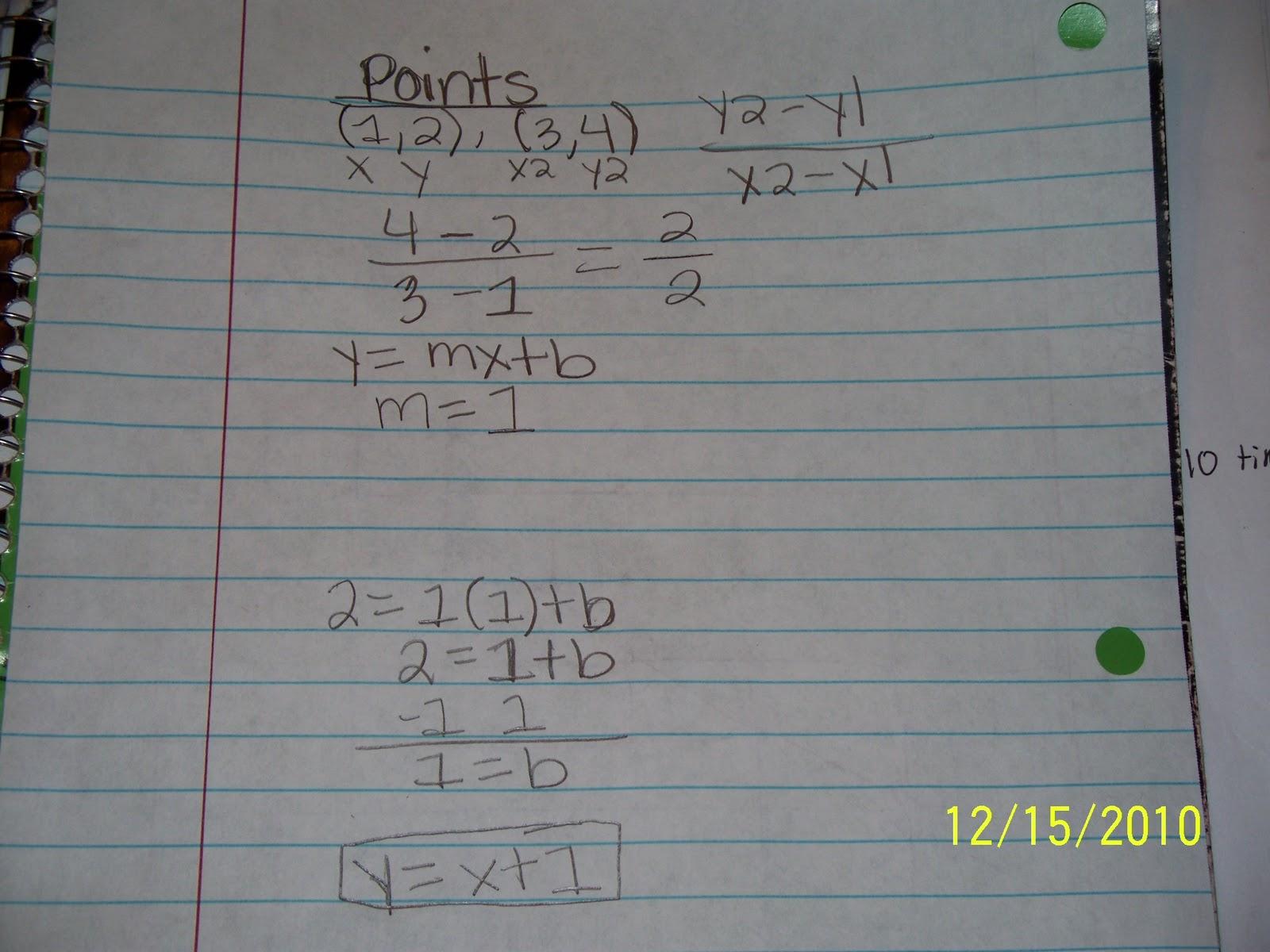 Brianna J Tes Blog 8th Grade Algebra Bloqg Assignment 4