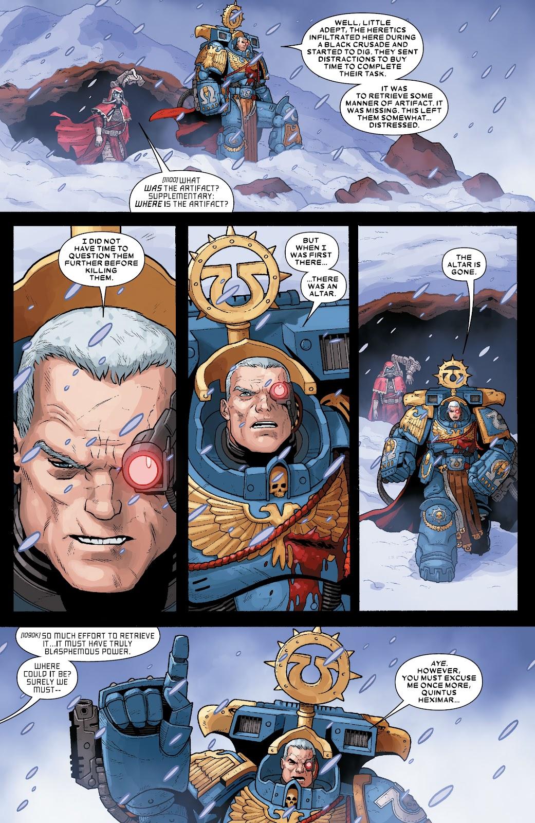 Warhammer 40,000: Marneus Calgar issue 5 - Page 21