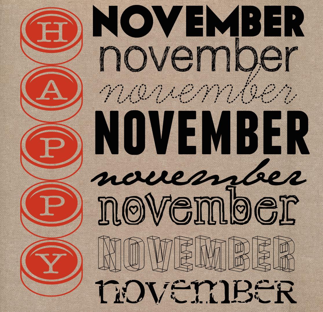 Happy November Quotes. QuotesGram