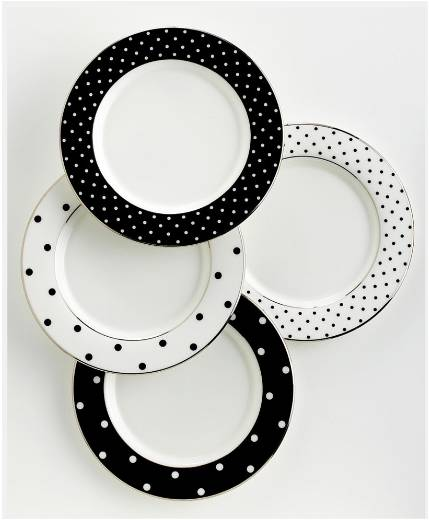 Kate Spade Polka Dot Dishes