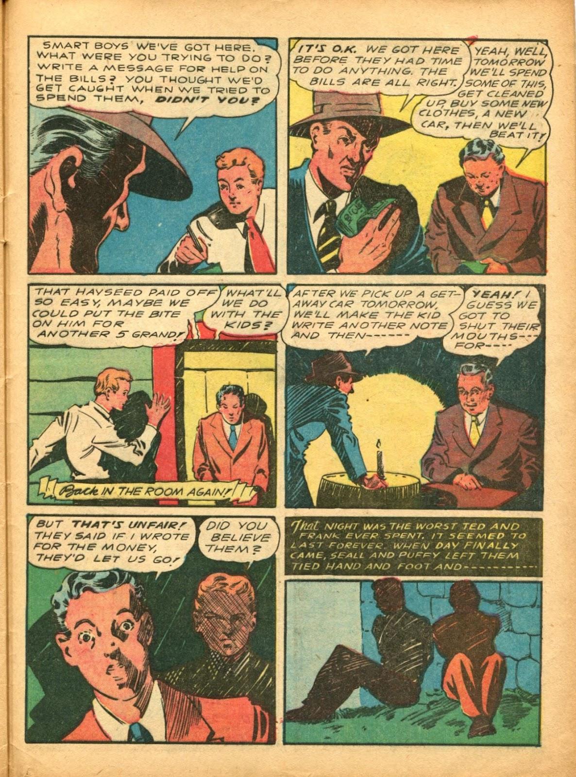 Read online Super-Magician Comics comic -  Issue #5 - 56