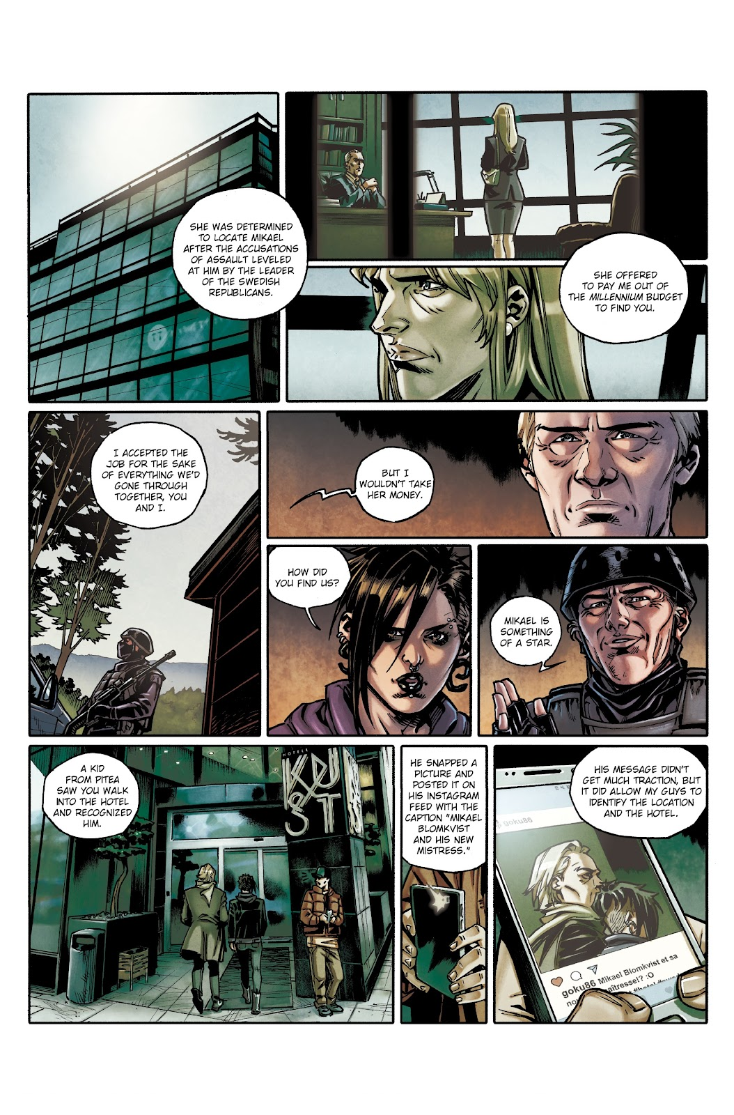 Read online Millennium: The Girl Who Danced With Death comic -  Issue #3 - 15