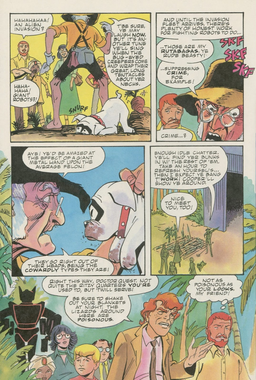 Jonny Quest (1986) issue 17 - Page 10