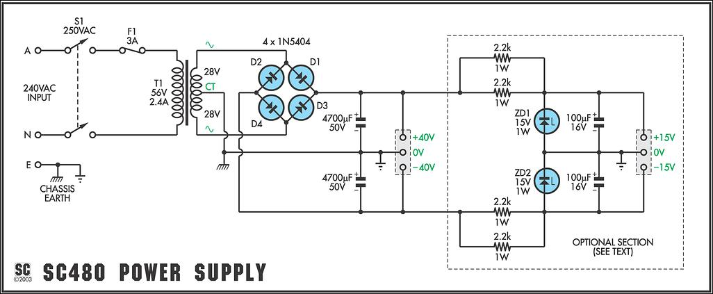 RO ELECTRONICA: SCHEMA AMPLIFICATOR AUDIO CU 2N3055 SAU