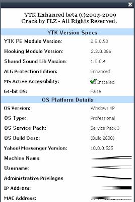 YIM v8 - v10 (Yahoo! Messenger 10 0 0 525 support) - Leecher