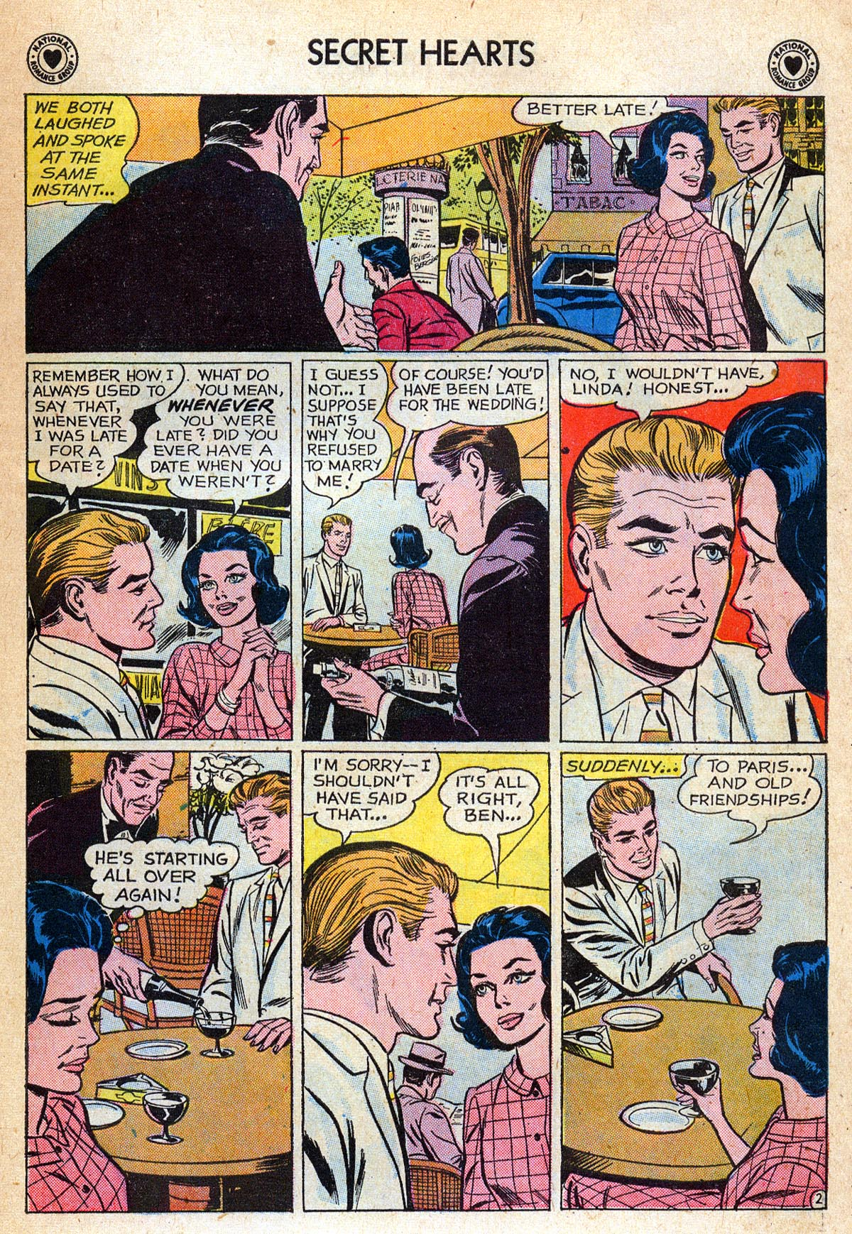 Read online Secret Hearts comic -  Issue #76 - 11