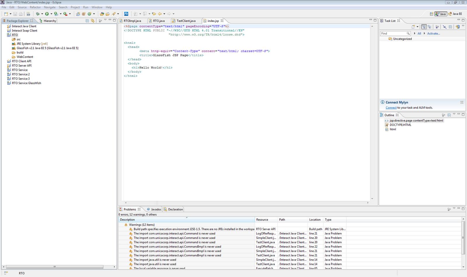 Mas's Java Development Notes: More on WebService Development using
