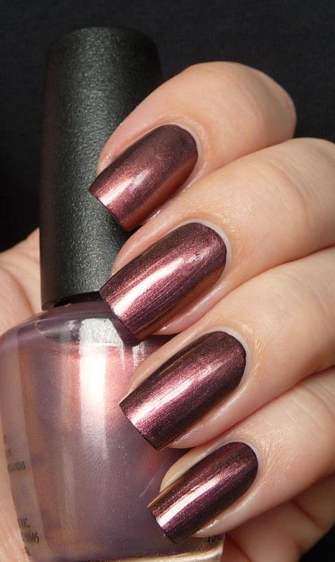 Beautiful Nail Art Opi Merryberry Mauve