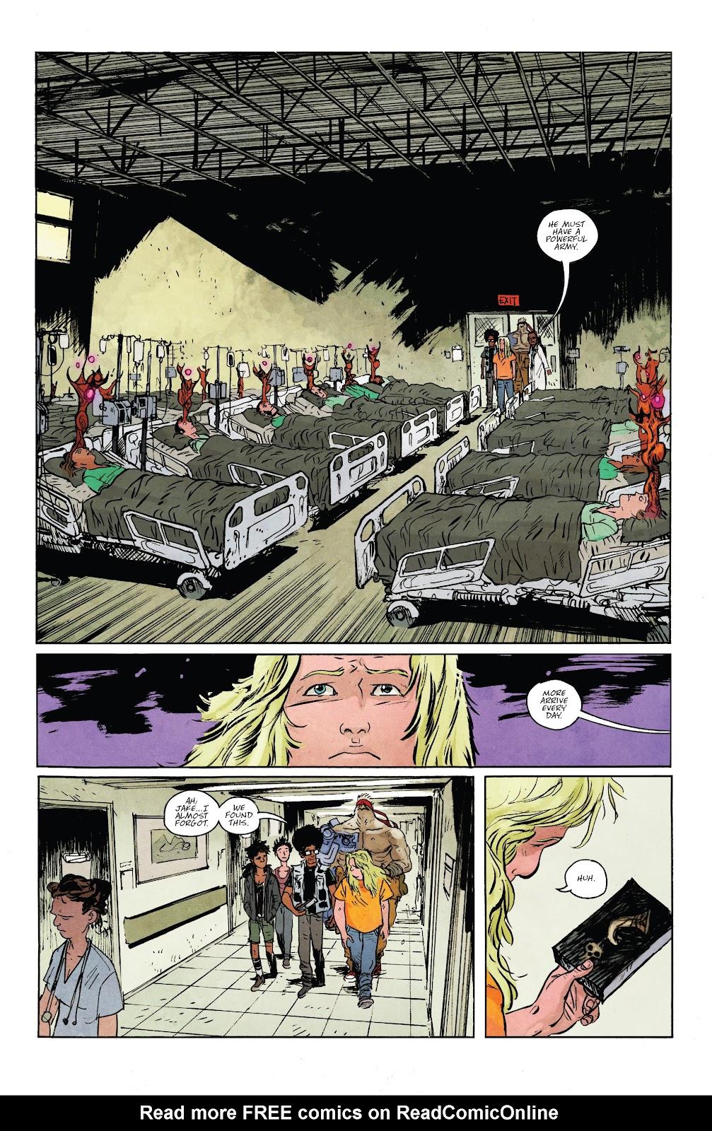 Read online Murder Falcon comic -  Issue #5 - 21