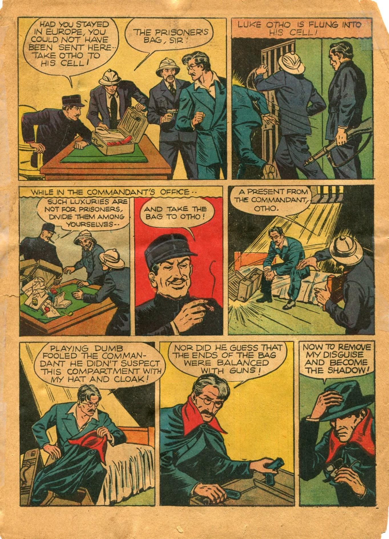 Read online Shadow Comics comic -  Issue #12 - 5