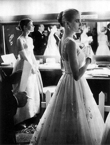 奧黛麗赫本與葛麗絲凱莉(1956年)