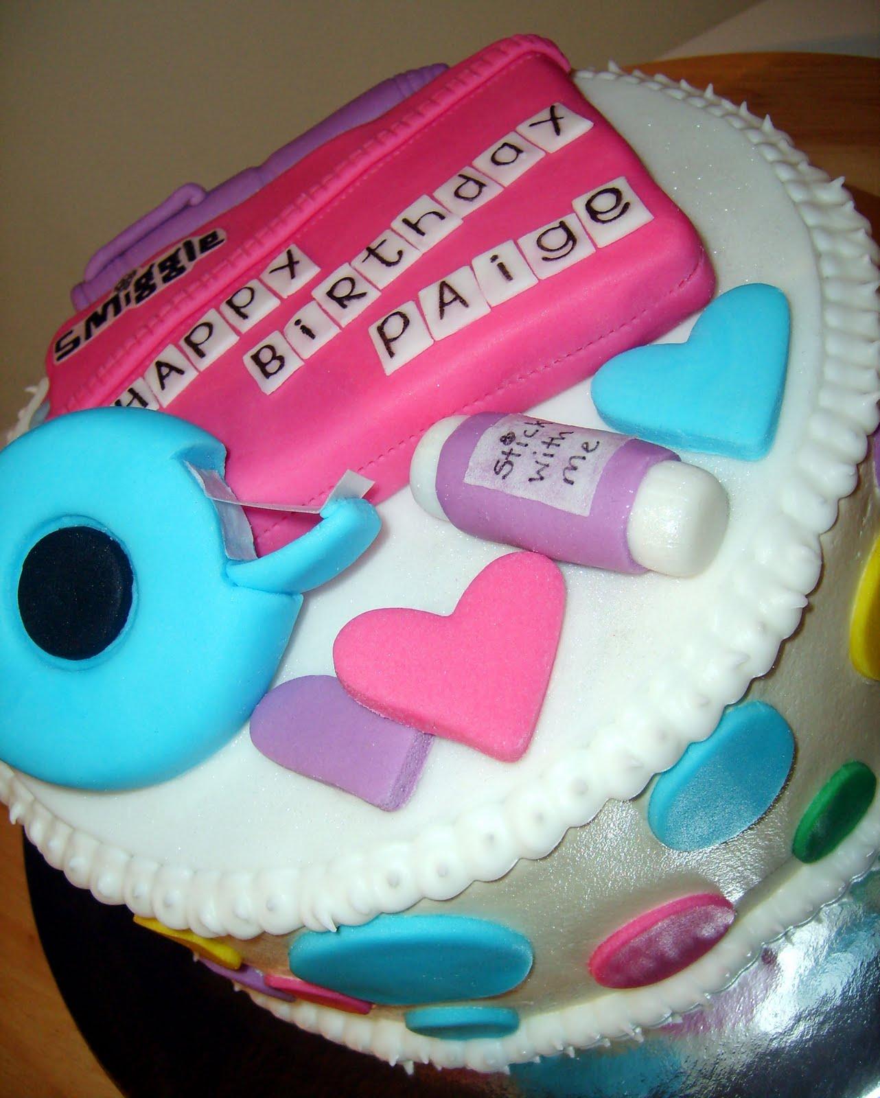 Smiggle Birthday Cakes