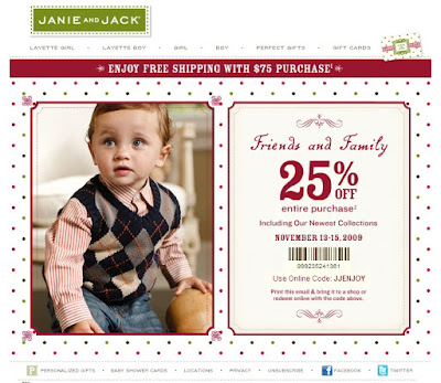 graphic regarding Janie and Jack Printable Coupons named Janie and jack printable coupon july 2018 - Keurig discounts 2018