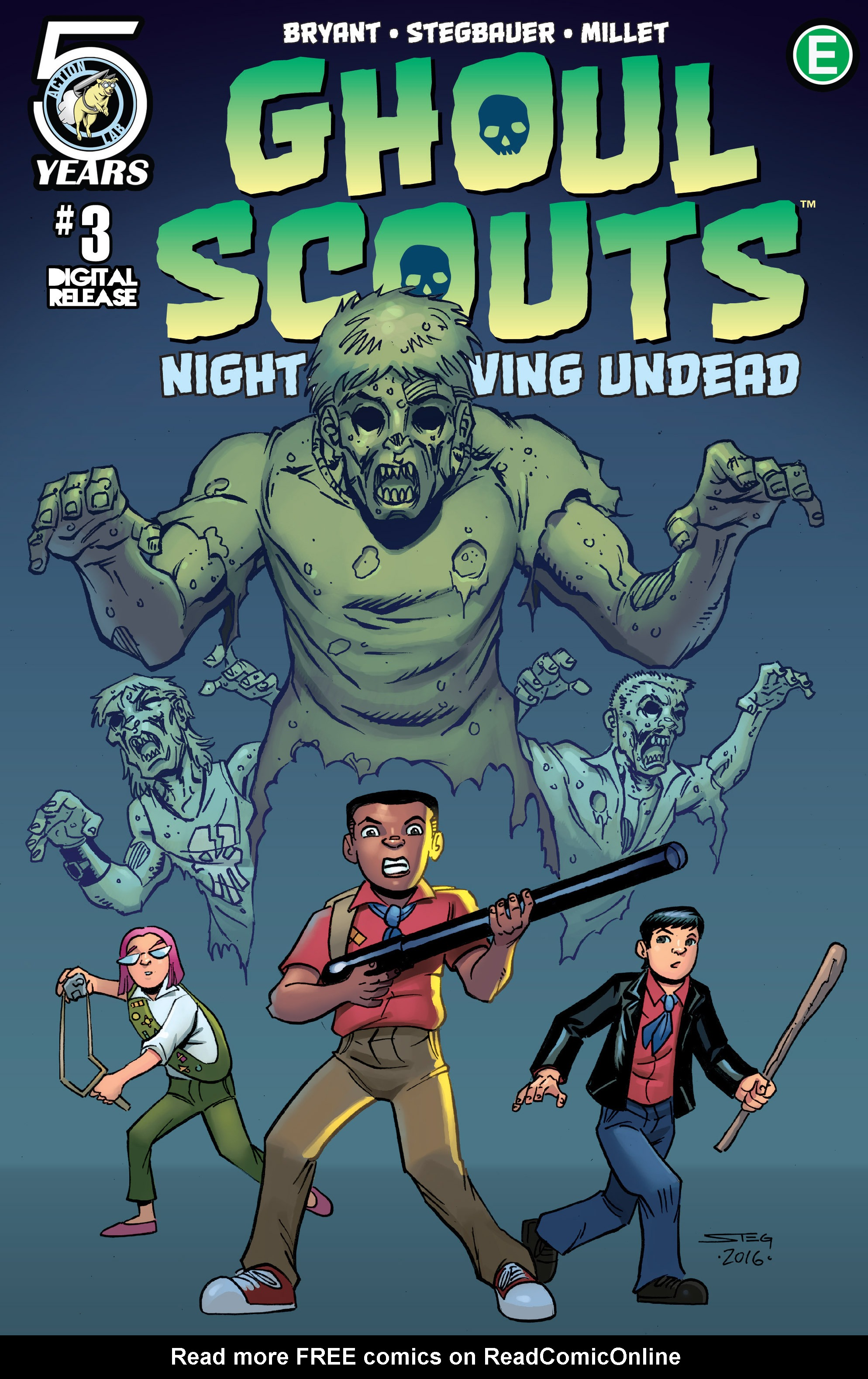 Ghoul Scouts: Night of the Unliving Undead 3 Page 1