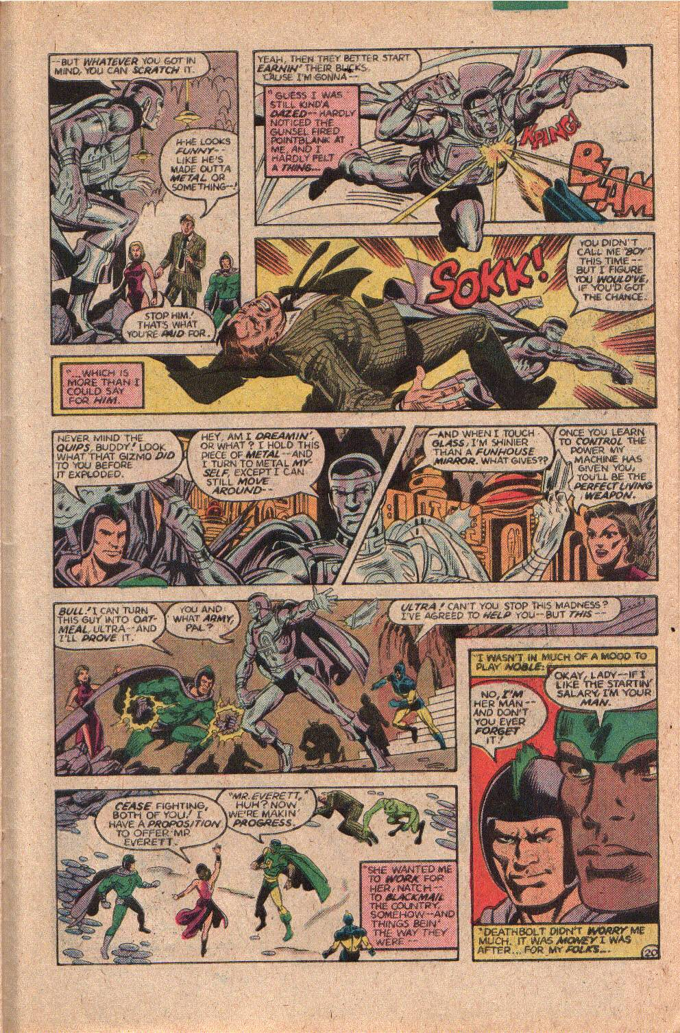 Read online All-Star Squadron comic -  Issue #23 - 27