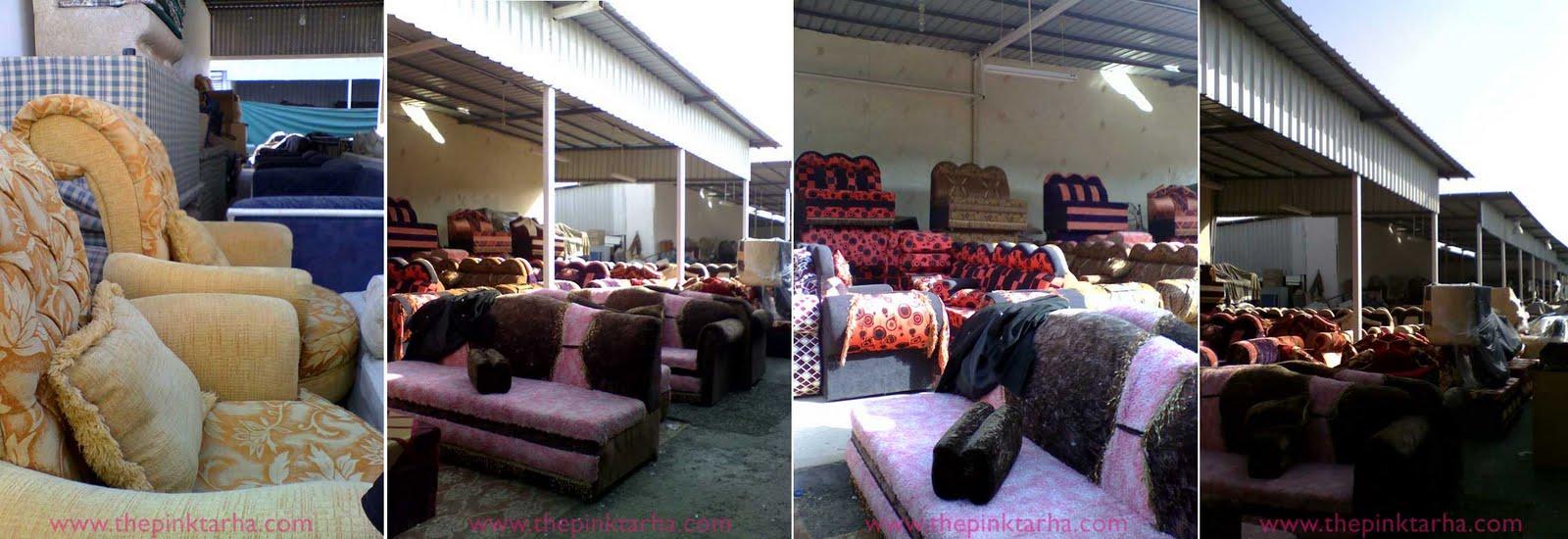 Exposing haraj the pink tarha for Sofa bed jeddah