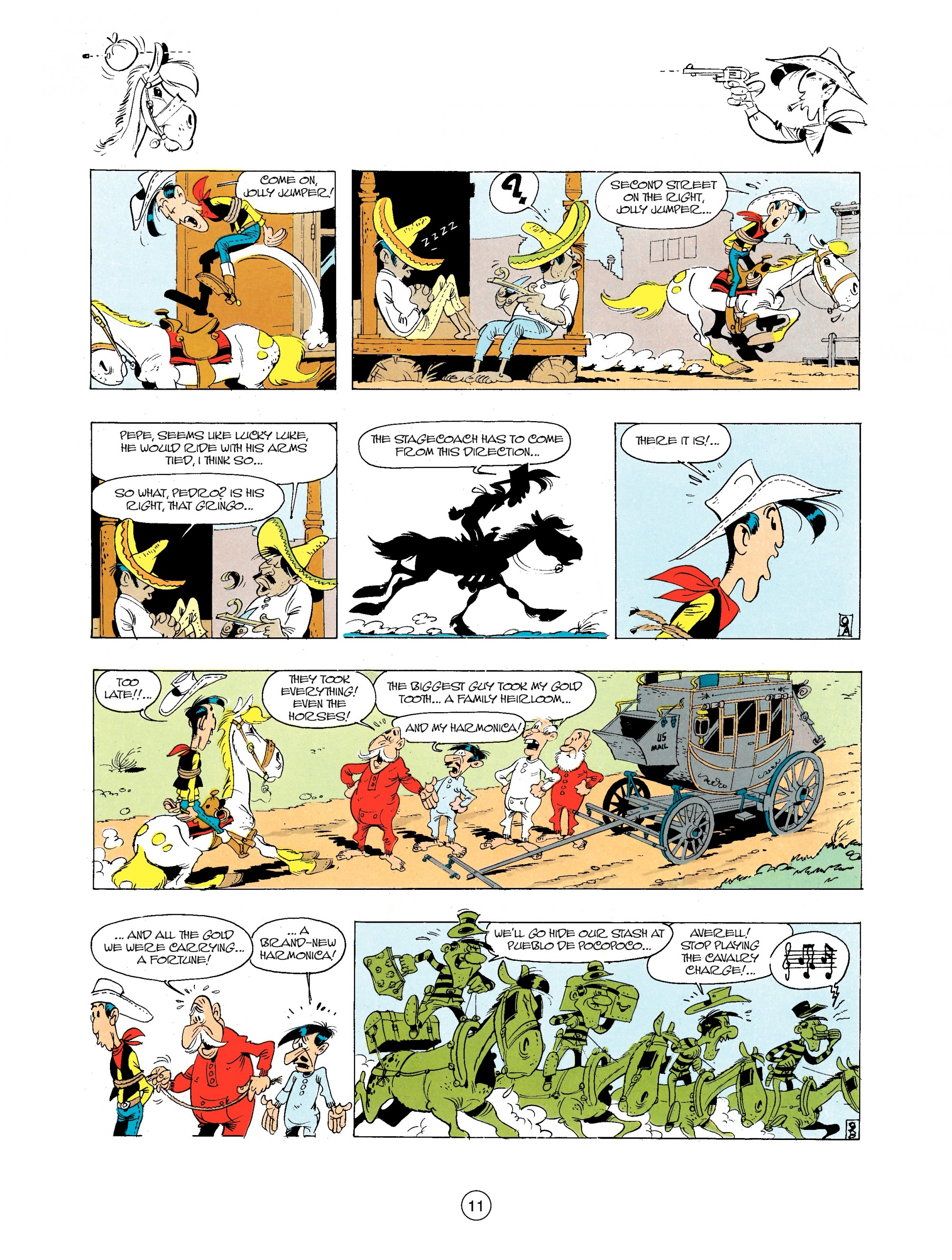Read online A Lucky Luke Adventure comic -  Issue #34 - 11