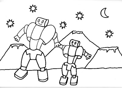 Dibujos Gratis Para Imprimir Y Colorear De Robots 圖片 上色