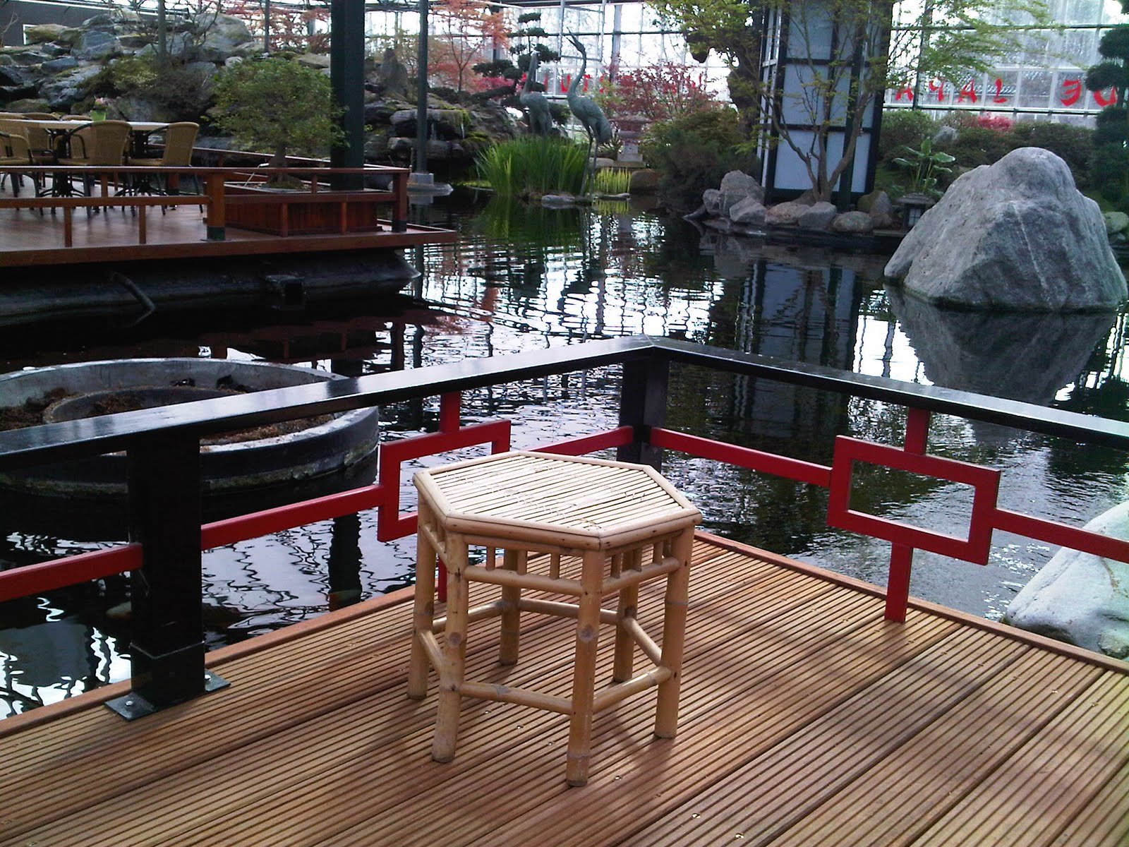 Japanese Watergarden in West Holland – Girl from the barrio
