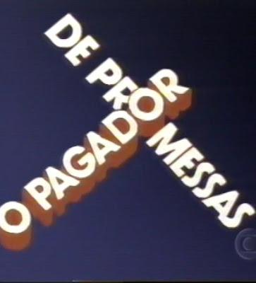 O PAGADOR FILME MAYER PROMESSAS BAIXAR JOSE DE COM