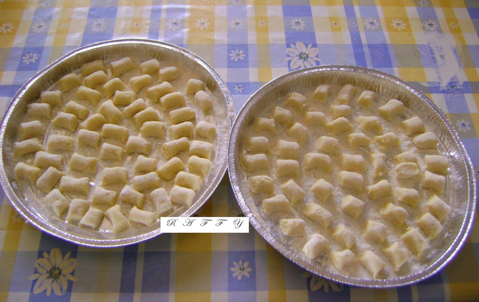 Ricetta Gnocchi Con I Fiocchi Di Patate.Raffy E I Suoi Pasticci Gnocchi Con I Fiocchi Di Patate